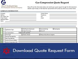 Gas Compression Quote Request