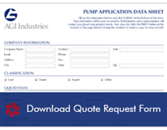 Pump Quote Request