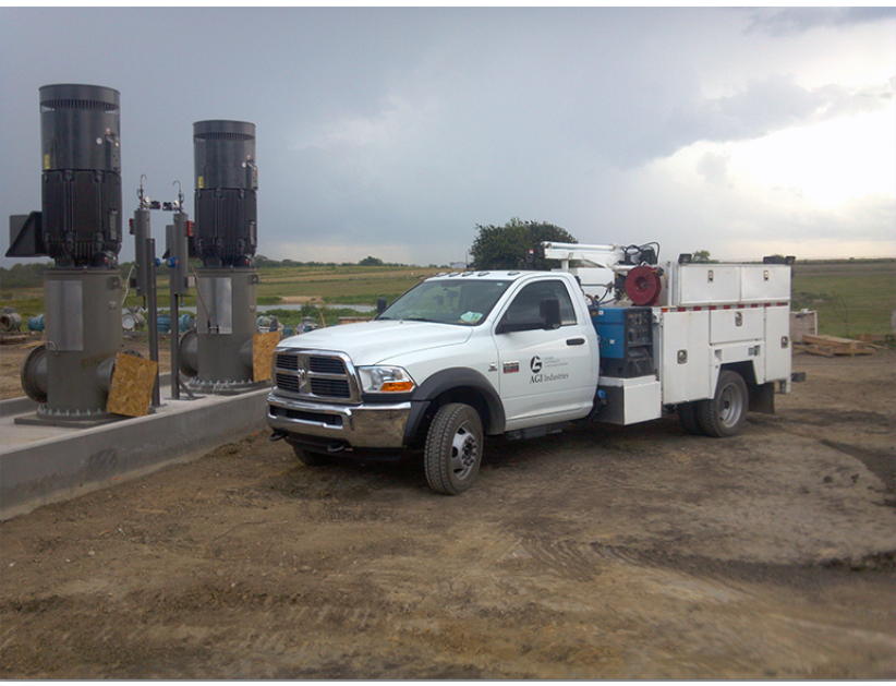 Onshore Field Services Truck