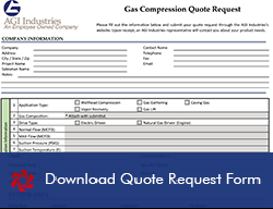 Gas Compression Quote Request